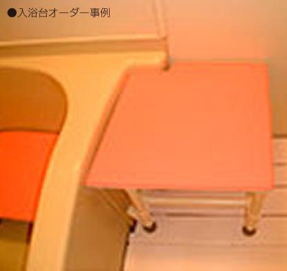 入浴用いす/入浴台 マット固定タイプ アジャスター付<br />  写真その6
