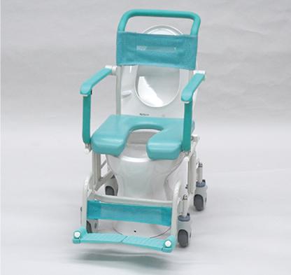 シャワーキャリー トイレットタイプ 4輪自由車<br />  写真その2
