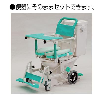 シャワーキャリー フロントレストタイプ アルミ製<br />  写真その6