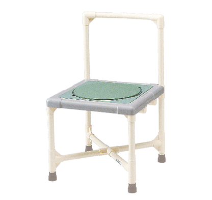 シャワーいす 背もたれ型 ターンテーブルタイプ(大) 写真その1