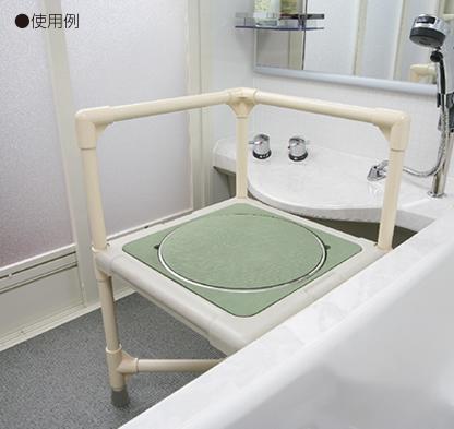 シャワーいす 背もたれ型シート(大) 写真その2