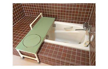 浴そうへの移乗介助を軽減したい(問題解決のポイント)