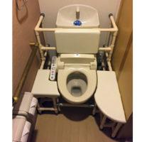 トイレでの移乗が大変。座位も安定させたい