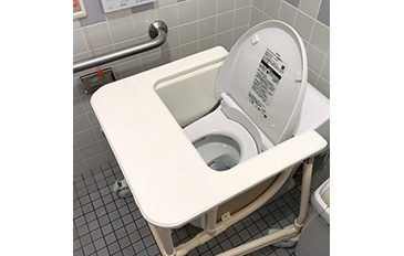 トイレでの座位保持の道具が欲しい(問題解決のポイント)