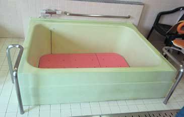 利用者も介助者も安心して入浴ができるようにしたい(問題解決のポイント)