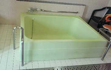 利用者も介助者も安心して入浴ができるようにしたい(現状の問題点)