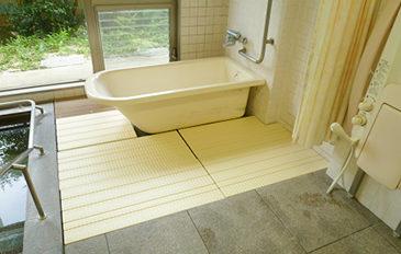 在宅での入浴環境を施設でも(問題解決のポイント)