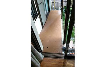 居室からの出入りと庭への上り下りが不便(問題解決のポイント)