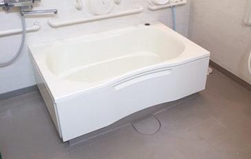 浴室スペースに合ったストレッチャーがほしい(現状の問題点)