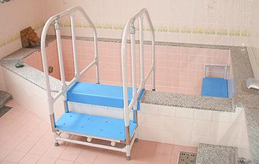 浴そうへの出入りと浴そう内での不安を解消したい(問題解決のポイント)