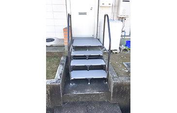 玄関前の階段を安全に昇降したい(問題解決のポイント)