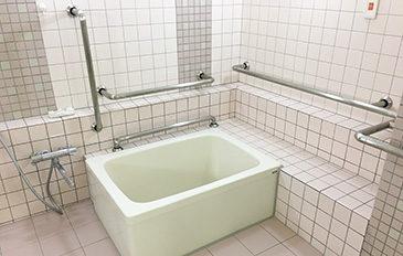 個浴に適した福祉用具がほしい(現状の問題点)