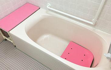またがず安全に入浴の練習をしたい(問題解決のポイント)