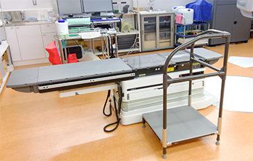 診療台への移乗による技師の負担を減らしたい(問題解決のポイント)