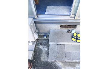 掃き出し窓から安全に出入りしたい(現状の問題点)