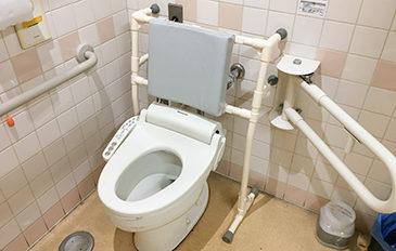 排泄時の姿勢保持を安定させたい(問題解決のポイント)