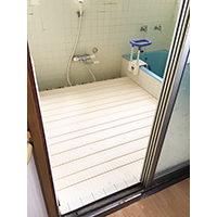 浴室出入口にある10cmの段差を解消したい