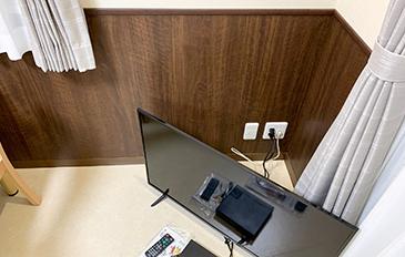 動線の邪魔にならないテレビ台を設置したい(現状の問題点)