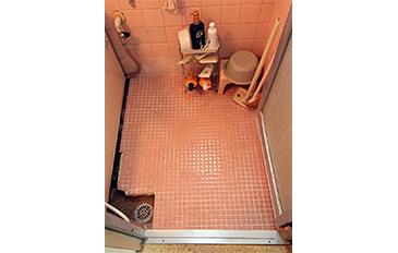 浴室出入口の段差解消をしたい(現状の問題点)