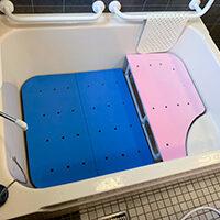 小柄な利用者が安心安全に入浴できるようにしたい